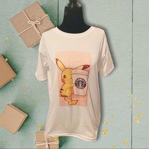 New Cute Pokemon Graphic T-Shirt